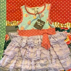 MATILDA JANE CHILDREN'S DRESS SIZE 2 BNWT